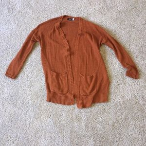 Urban outfitters size small orange cardigan